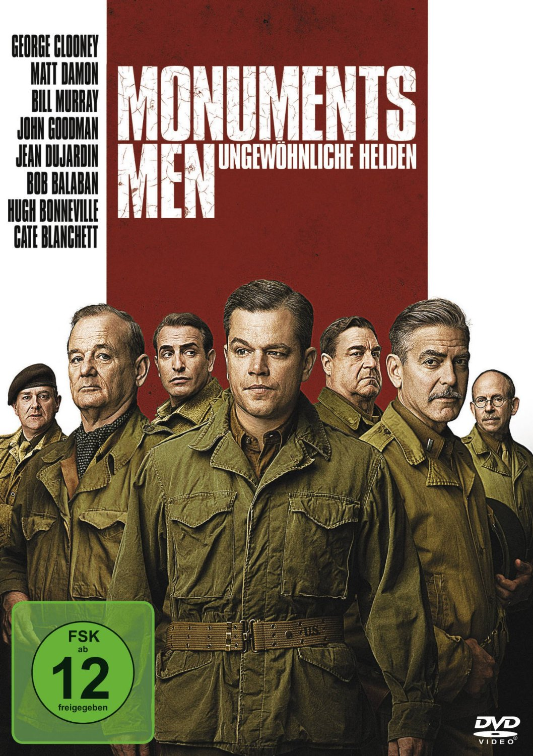 DVD - Monuments Men