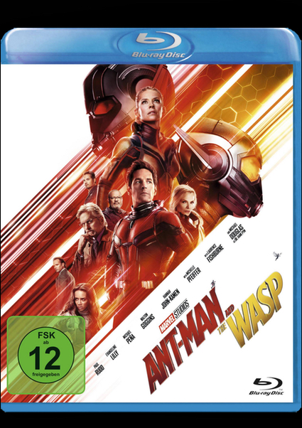 Blu-ray - Ant-Man and the Wasp