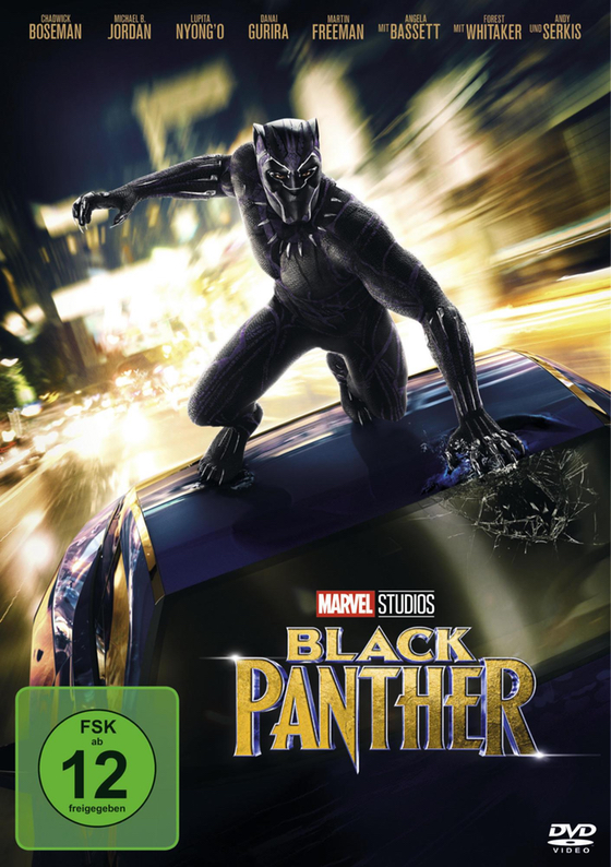 DVD - Black Panther