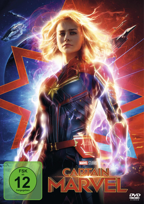 DVD - Captain Marvel