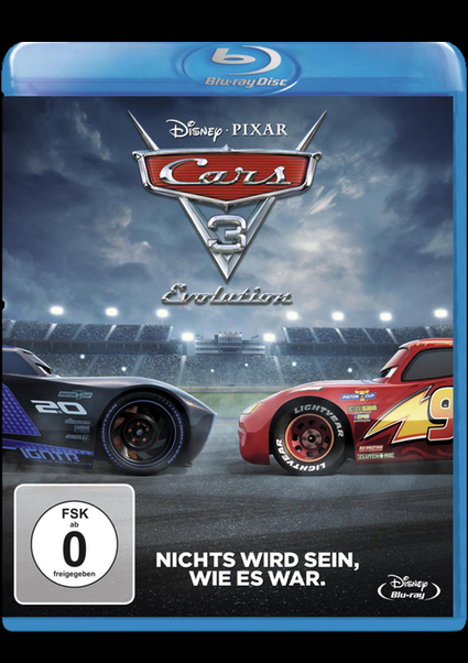 Blu-ray - Cars 3 - Evolution