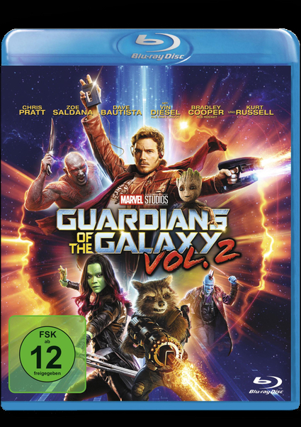 Blu-ray - Guardians Of The Galaxy Vol. 2