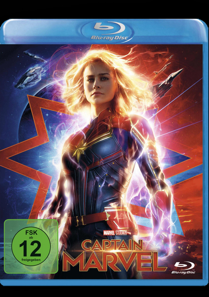 Blu-ray - Captain Marvel