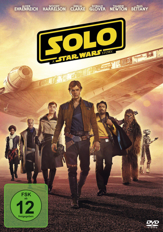 DVD - Solo - A Star Wars Story